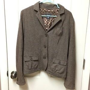 American Eagle Large Blazer Coat Fully Lined